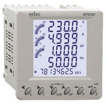 MFM384 Đồng hồ đa năng SELEC